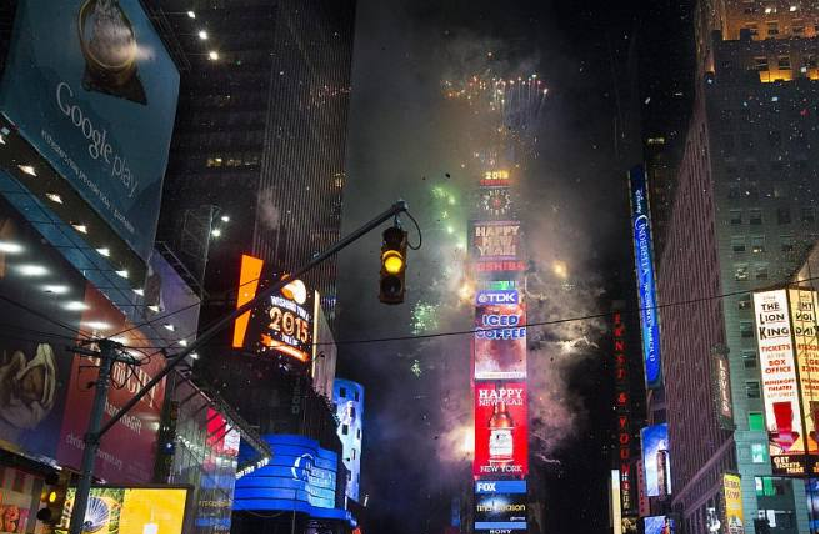 New Year Eve Celebrations: Journalists To Welcome 2019 At Iconic New York's Time Square