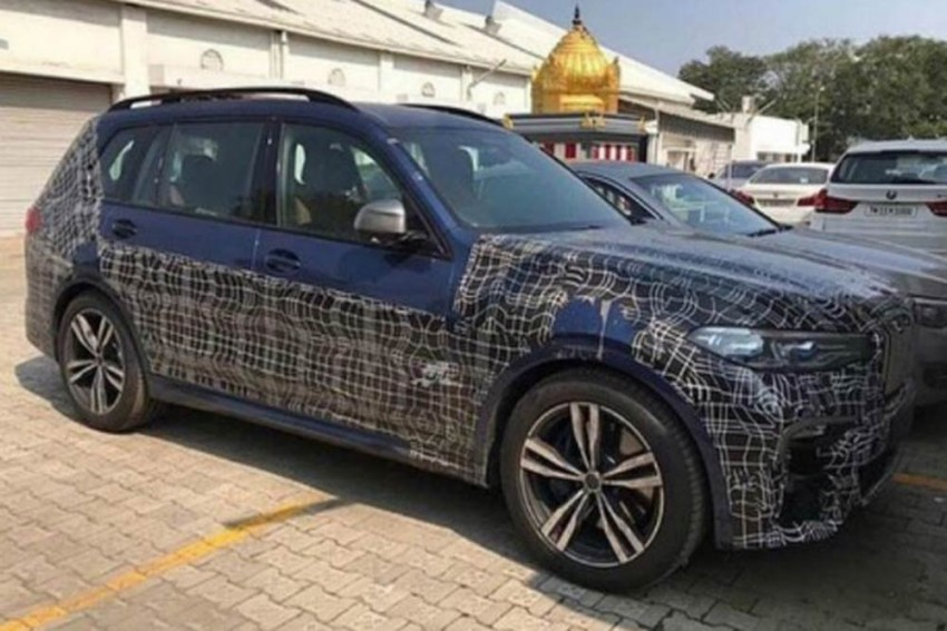 BMW X7 Spied In India; Likely To Launch In January