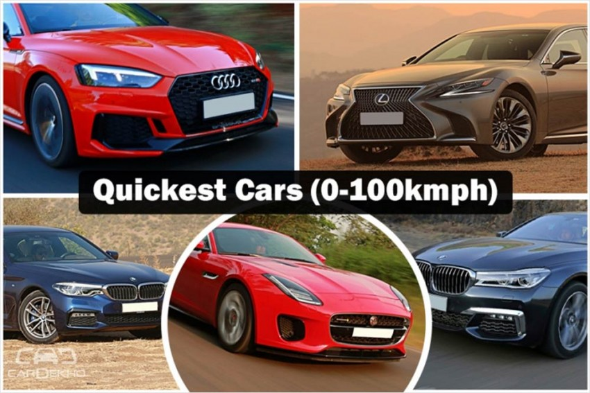 2018 Recap: Quickest Cars (0-100kmph) In Our Road Tests