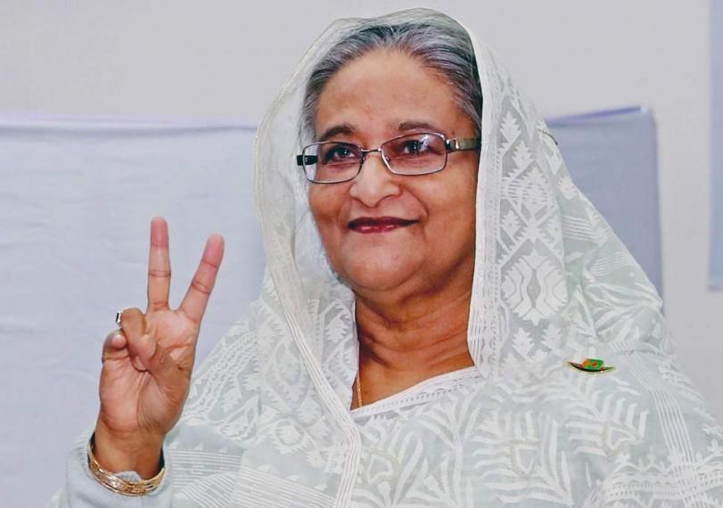 Bangladesh's Sheikh Hasina Wins Election By Landslide