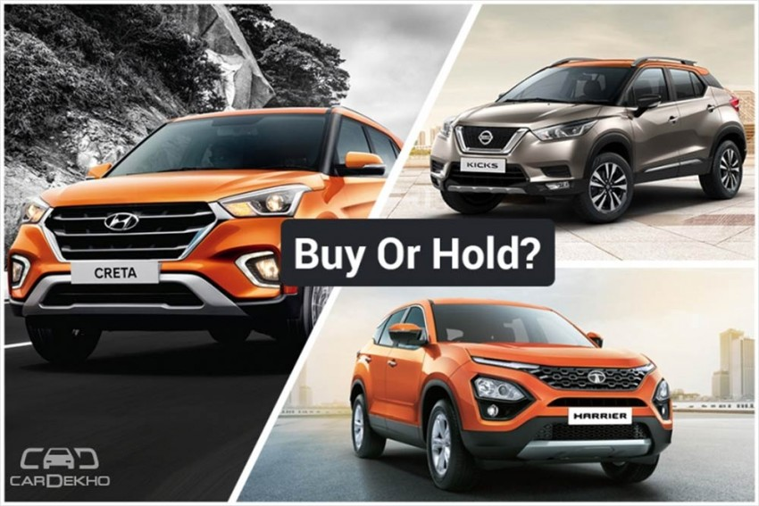 Buy Or Hold: Wait For Nissan Kicks & Tata Harrier or Go For Hyundai Creta?