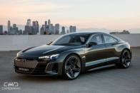 Audi To Take On Tesla Model S With e-Tron GT; Launch In 2020