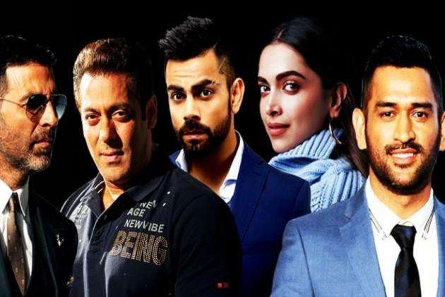 Salman Khan Tops Forbe's Richest Indian Celebs List, Deepika 1st Woman To Enter Top 5