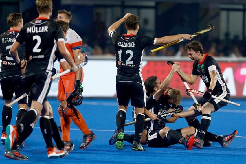 Hockey World Cup: Germany beat Netherlands 4-1, Malaysia Hold Pakistan To 1-1 Draw