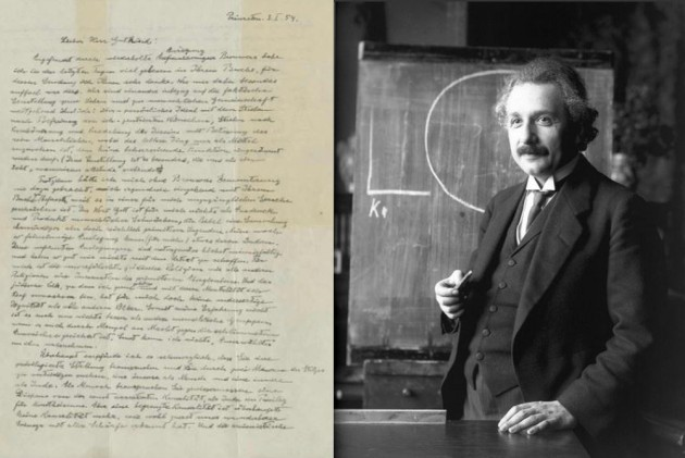Albert Einstein's 'God Letter' Sells For $2.9 Million. Here Is What It Says.