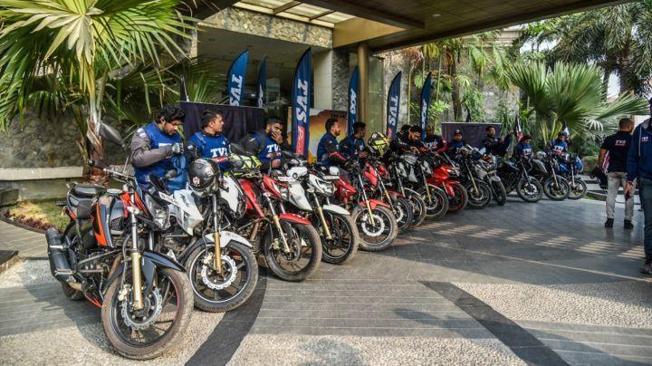 First International TVS AOG Ride To Bhutan Flagged Off