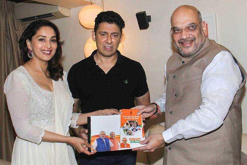 Madhuri Dixit Likely To Contest From Pune For BJP In Lok Sabha Polls