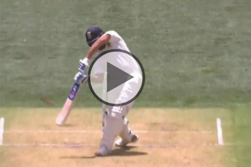 India's Tour Of Australia, 1st Test: Rohit Sharma Hits Pat Cummins For Glorious Six – Watch