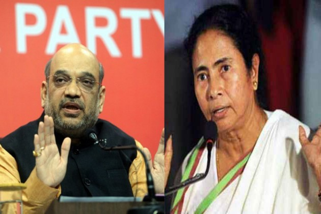 Mamata Stalls BJP's Rath Yatra, Amit Shah Says She Is Scared