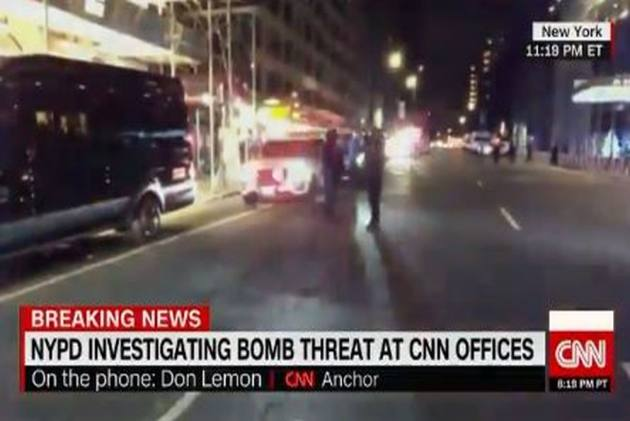 CNN New York Offices Evacuated After Bomb Threat