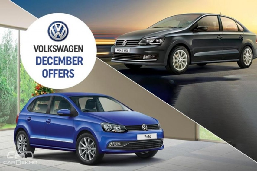 Year-End Offers On Volkswagen Cars: Discounts Upto Rs 2 Lakh On Polo, Ameo, Vento