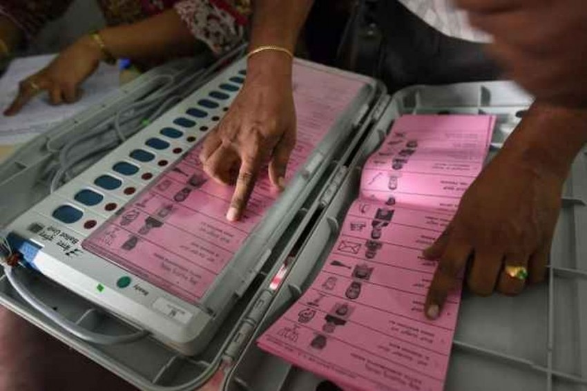 Rajasthan Assembly Elections: 2 Officials Suspended After EVM Found Lying On Road In Baran