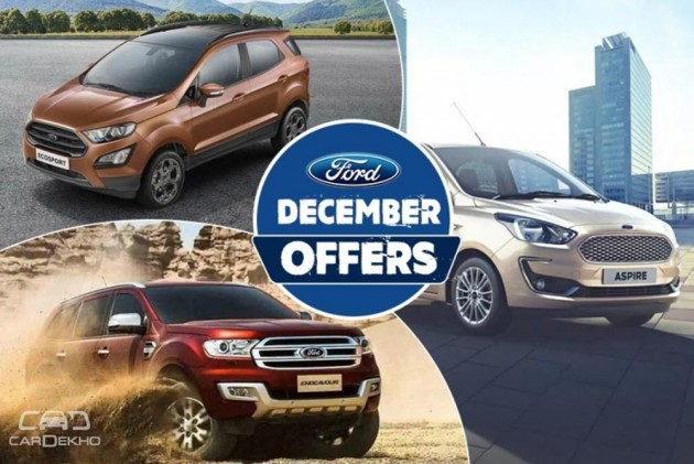 Ford December Offers: Cash Discounts, Exchange Bonuses On Figo, EcoSport & More