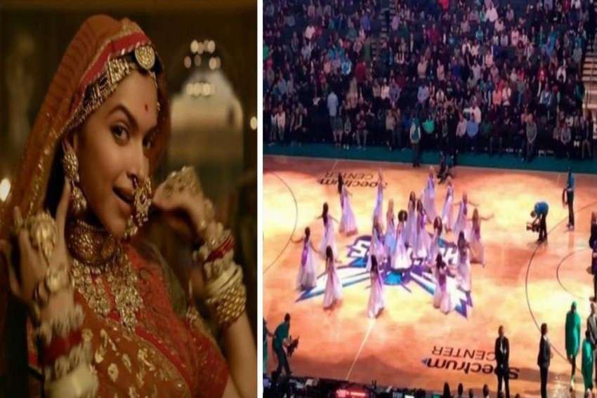 Now, 'Ghoomar' Song Goes Viral In US, Cheerleaders Perform During NBA Match