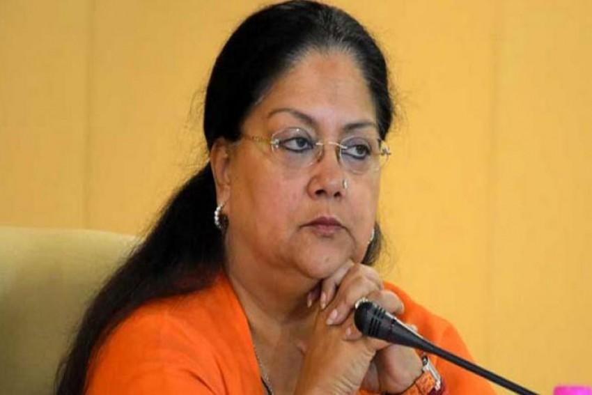 In Viral Phone Call, BJP MLA Heard Blaming Vasundhara Raje For By-Poll Defeats, Seeking Leadership Change In Rajasthan