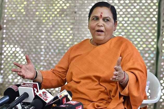 Nehru Sought RSS Help When Pak Attacked J&K After Independence, Says Uma Bharti