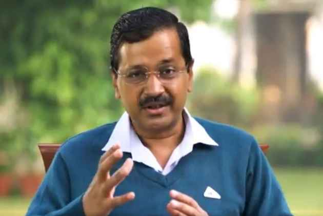 WATCH: On AAP Govt's 3rd Anniversary, Kejriwal Shares Video Stalled Over 'Unseen Forces' Reference