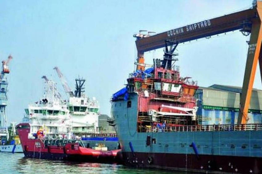 'There Was An Explosion But No Sign Of Fire Inside Ship': Centre Seeks Report From CSL On Blast On ONGC Ship