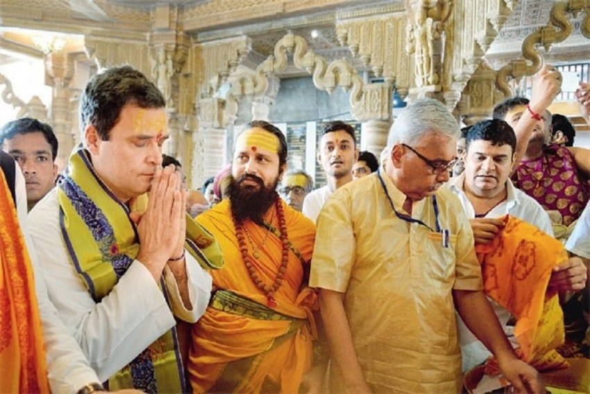 Rahul Gandhi's Visits To Religious Places Strategy of 'Soft Hinduism', Says Shiv Sena
