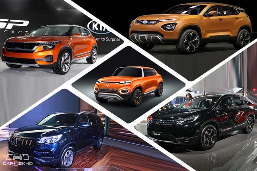 Top 5 SUVs At Auto Expo 2018: Tata H5X, Mahindra Rexton And More