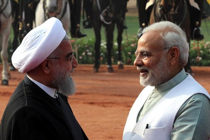 Iranian President Hassan Rouhani Gifts Copy Of Mahabharata To PM Modi