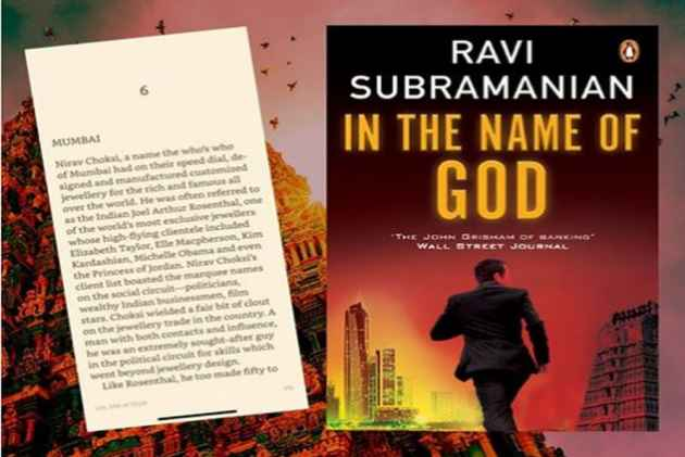 Author Ravi Subramanian Reveals Why Characters In His Book 'In The Name Of God' Resemble Multicrore PNB Scamsters