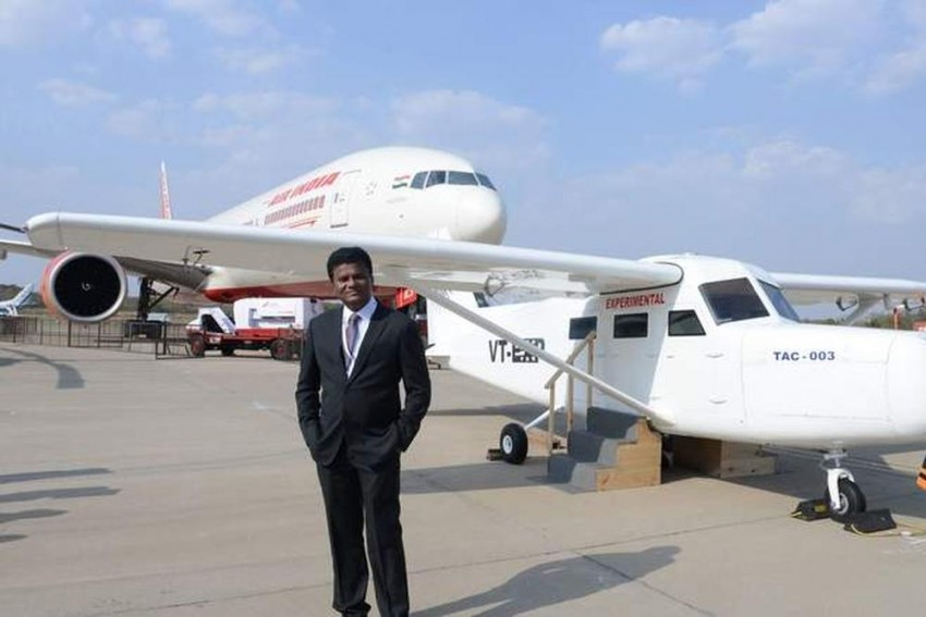 Maharashtra Signs Rs 35,000 Cr Joint Venture With Mumbai Pilot Who Built Aircraft On His Rooftop And Named After Modi And Fadnavis