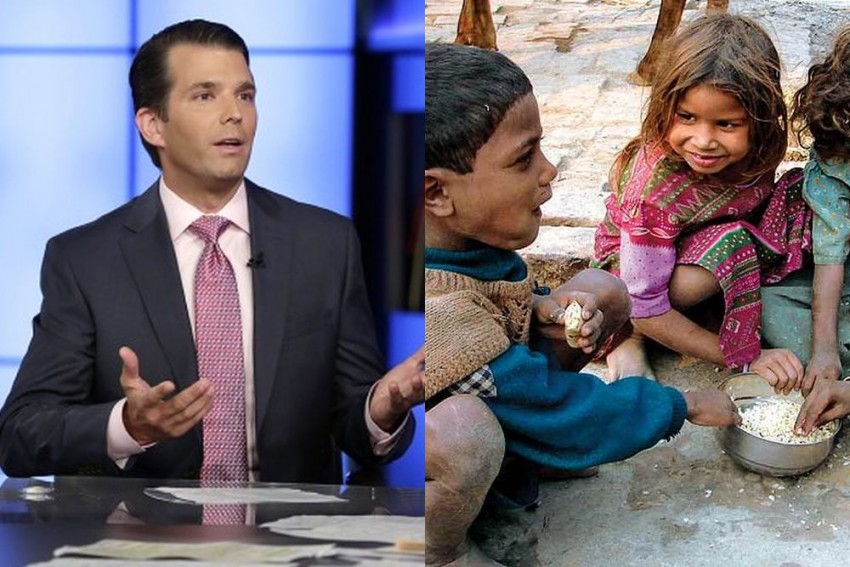 US President's Son Donald Trump Jr Likes India's Poor Because They 'Smile'