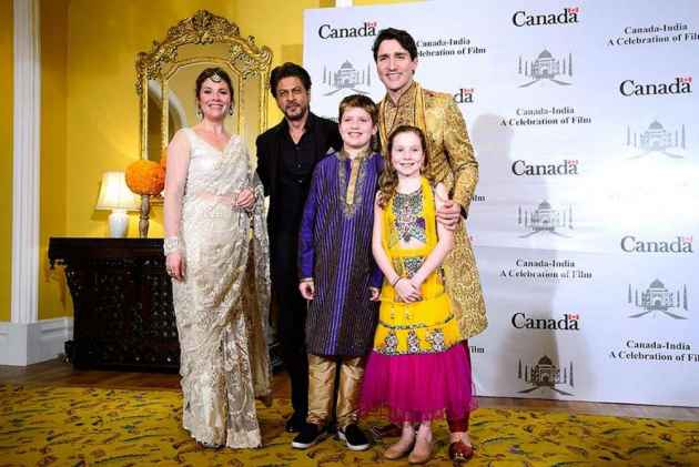 Trudeau Family's Attire Too Flashy Even For An Indian?