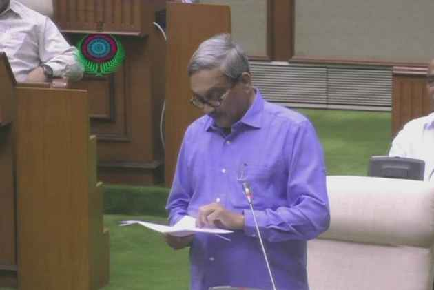 Hours After Discharge, Goa CM Parrikar Presents Budget In State Assembly