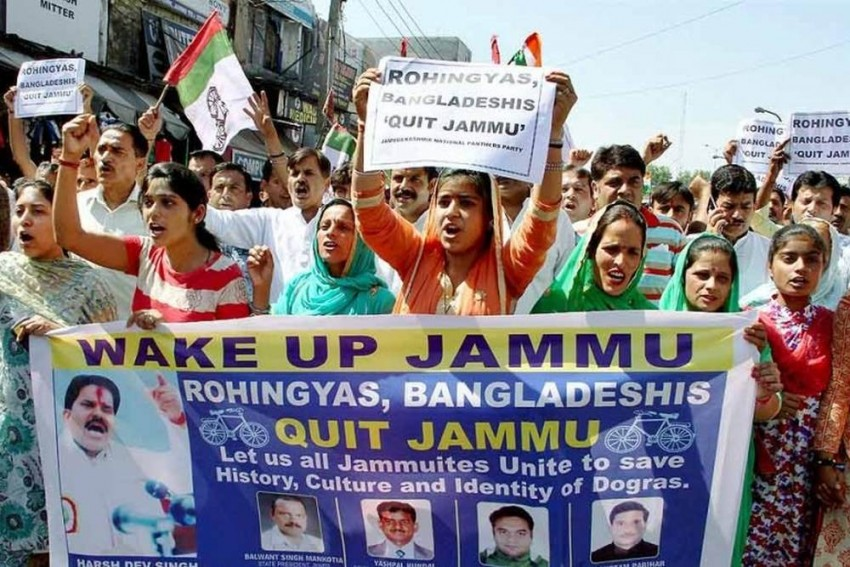 PDP Vs BJP Over Stay Of Rohingyas And Bangladeshis In J&K