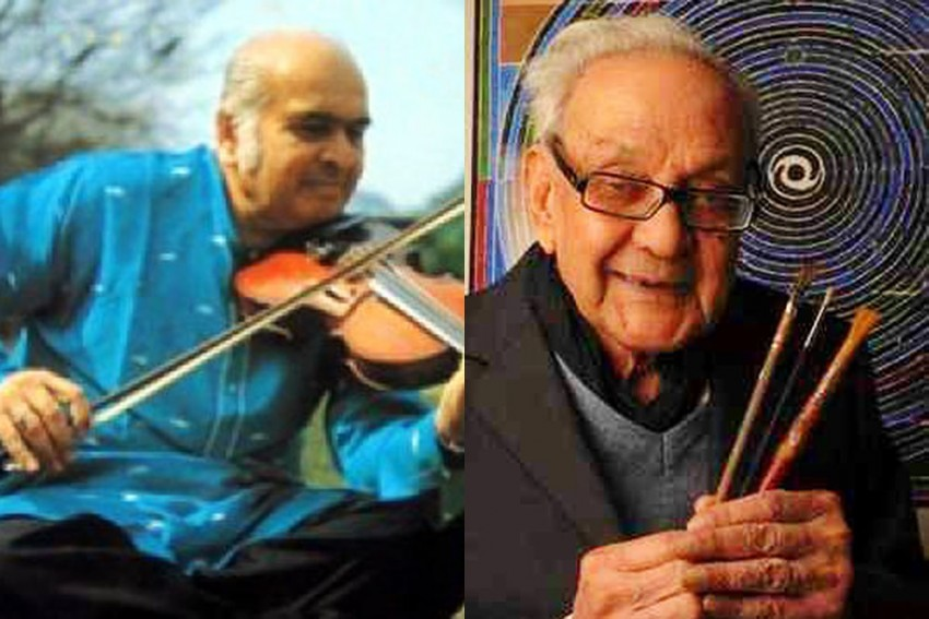 Jog Up To Raza: A Hand That Bowed The Violin, Another That Moved The Brush