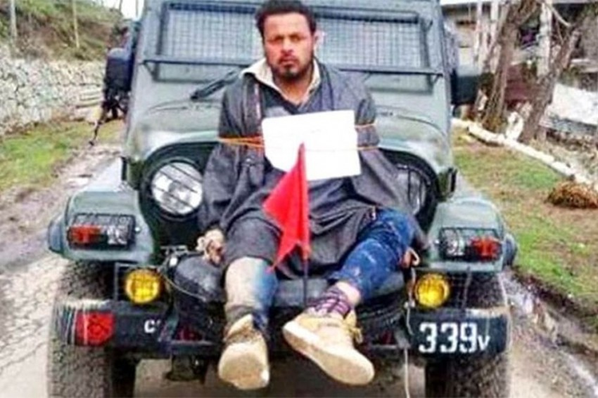 Amnesty International Says Impunity For Human Rights Abuses Persists In Valley, Cites 'Human Shield' Farooq Dar As Example
