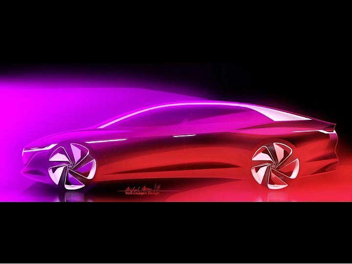 The I.D. Vizzion Shows Us VW's Take On Autonomous Cars
