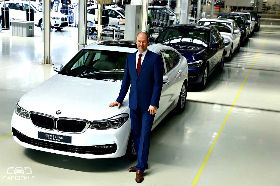 Bmw To Launch 6gt Diesel In India In 2018