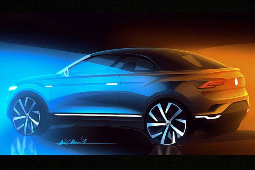 Volkswagen Confirms T-Roc Convertible SUV For 2020
