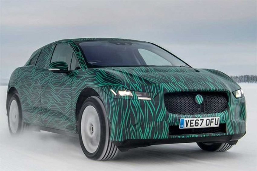 Jaguar To Unveil I-Pace Electric SUV On March 1