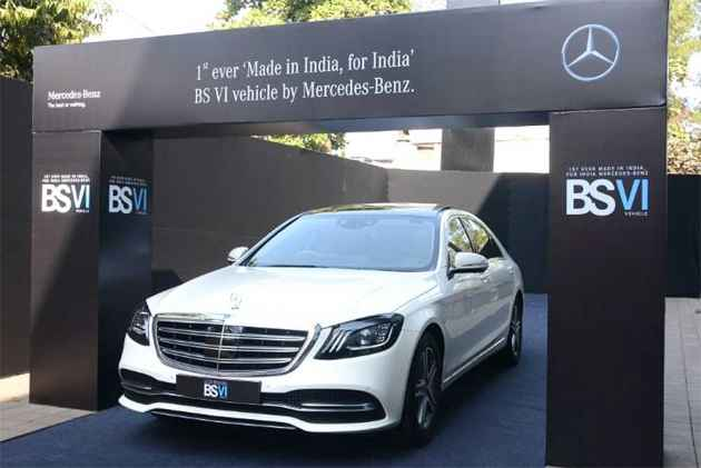 Mercedes-Benz S-Class Facelift Launched At Rs 1.33 Crore