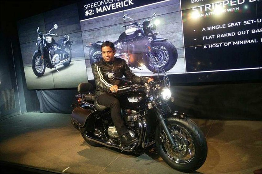 Triumph Bonneville Speedmaster Launched In India