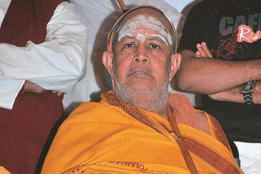 Kanchi Mutt Seer Sankaracharya Jayendra Saraswathi Dies