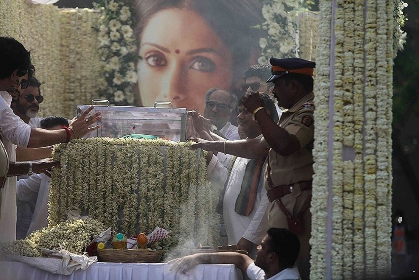 Sridevi's Funeral: Indian Cinema Icon Cremated With State Honours