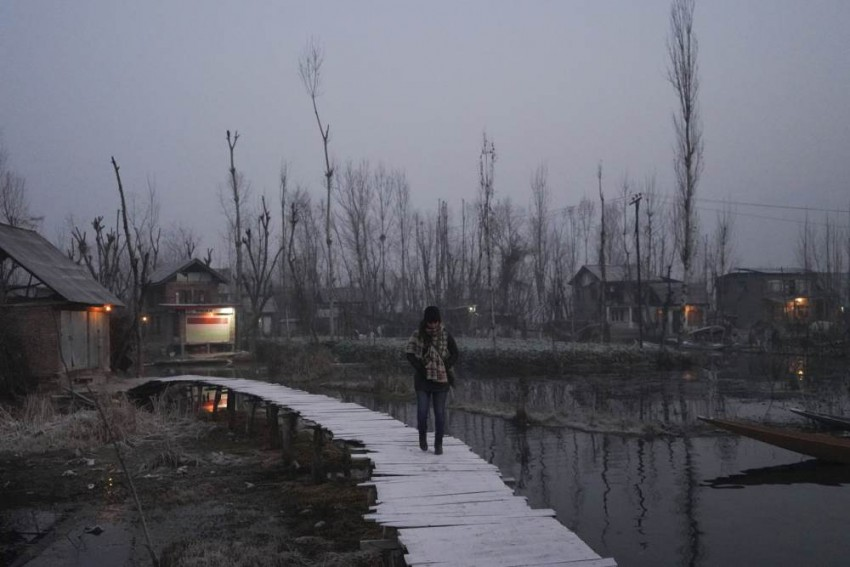 Impressions Of Syrian Author In Kashmir