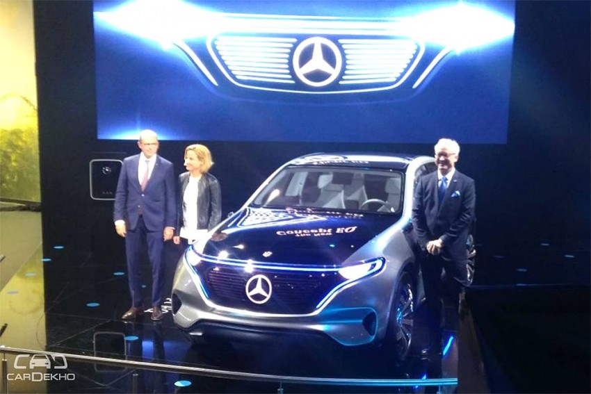 Mercedes-Benz Concept EQ Unveiled At Auto Expo 2018