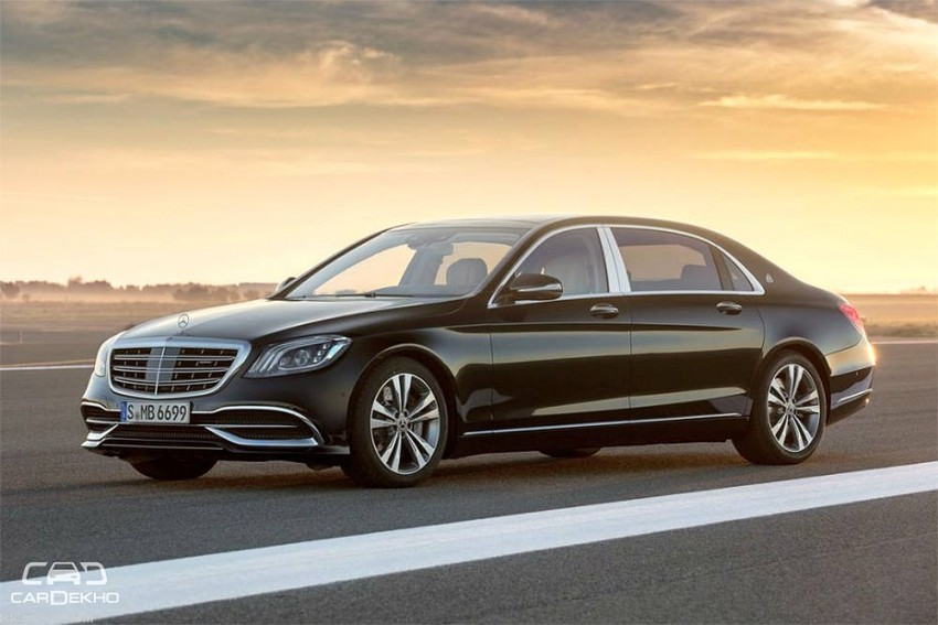 Mercedes-Maybach S 650 Launched At Auto Expo 2018 At Rs 1.94 Crore