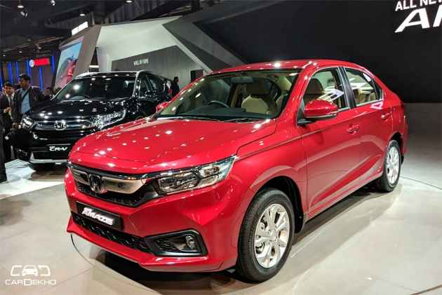 2018 Honda Amaze Picture Gallery