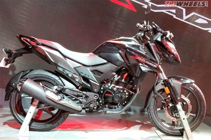 Honda X-Blade Unveiled At Auto Expo 2018