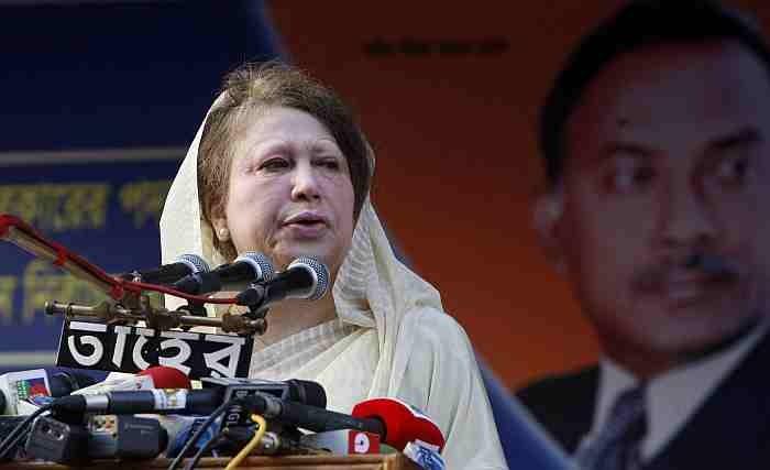 Tension In Bangladesh Ahead Of Graft Case Verdict Against Former PM Khaleda Zia