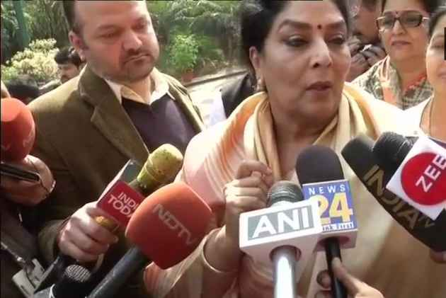 Uproar In Parliament Over Modi's 'Ramayan' Comment On Congress MP Renuka Chowdhary's Laughter