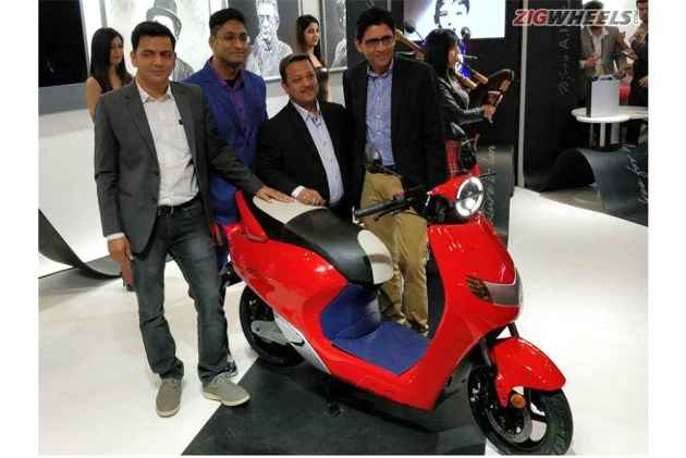 Twenty Two Motors Flow Launched At Rs 74,740 At Auto Expo 2018