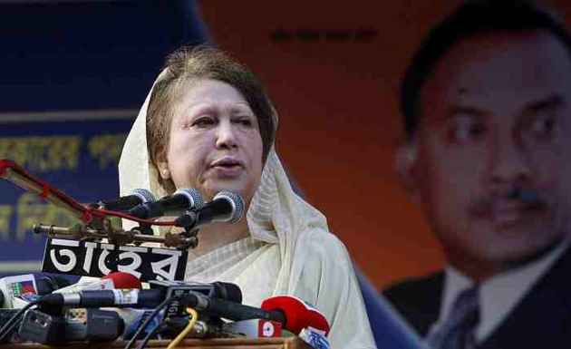 Former Bangladesh PM Khaleda Zia Sentenced To Five Years In Jail In Graft Case